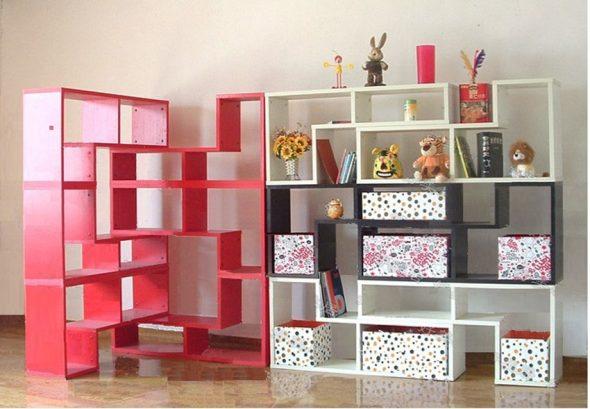 Шкаф-перегородка Современный минималистский стиль