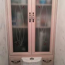 Шкаф в туалет фото