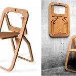 Складной стул современный дизайн