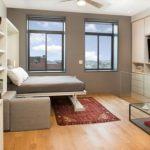 Спокойное оформление небольшой комнаты