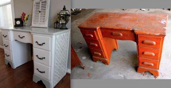 Как переделать старую мебель своими руками