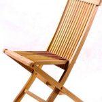 Удобный складной стул со спинкой