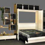 Встроенная кровать трасформер