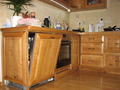Высота встраиваемой посудомоечной машинки