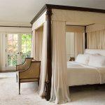 балдахин над кроватью в интерьере