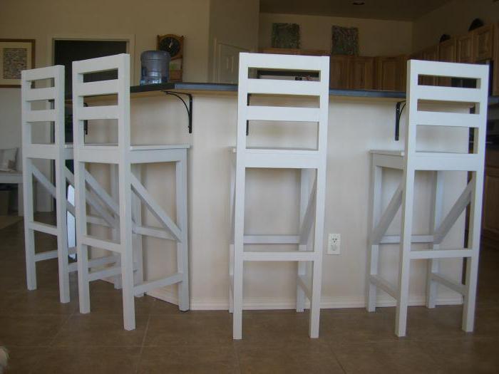Как сделать барные стулья своими руками из дерева 62