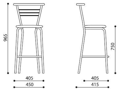 барный стул marco