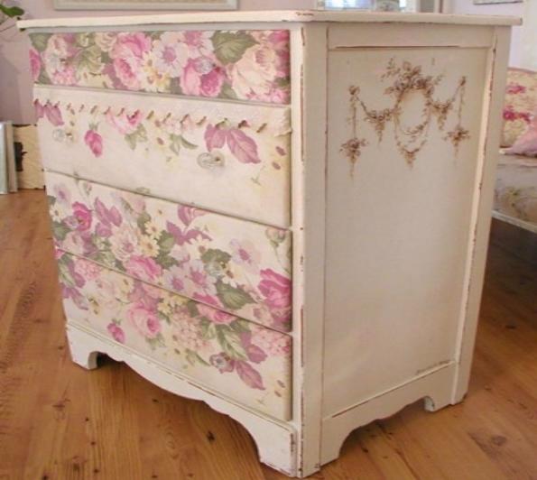 Перекрасить лакированную мебель своими руками 58