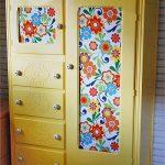 декорировать шкаф покраска