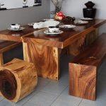 идеи деревянной мебели