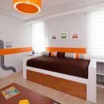 детская выдвижная кровать дерево