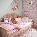 детская выдвижная кровать для девочек