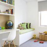 детская выдвижная кровать в интерьере