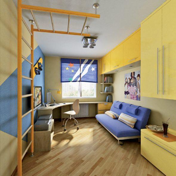 дизайн детской комнати