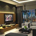 дизайн и мебель в зале