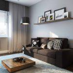 дизайн интерьера однокомнатной квартиры студии