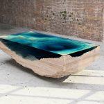 дизайнерский столик океан
