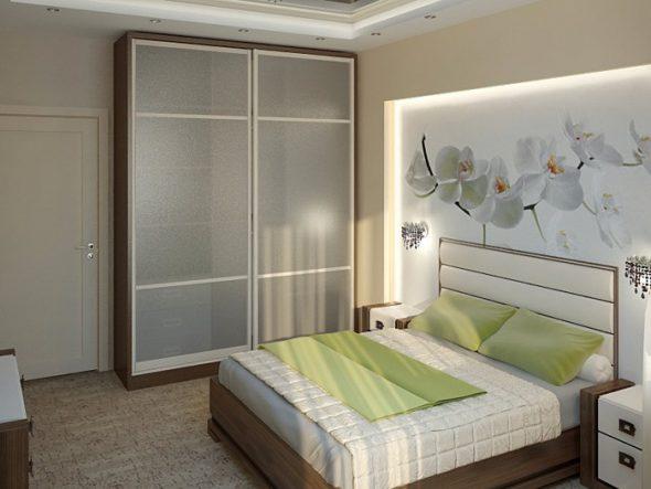 шкаф в маленькой спальне