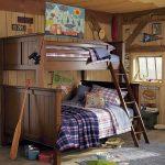 двухъярусная кровать трехспальная