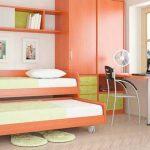 двухъярусная выдвижная кровать для детской
