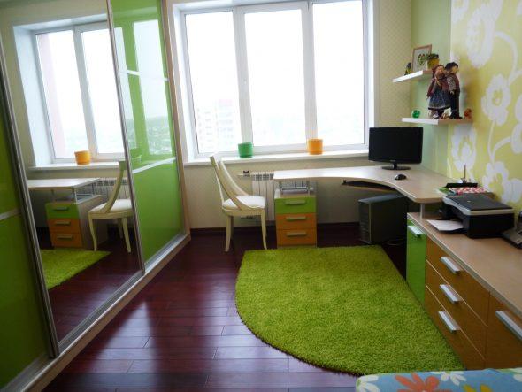 фото узкой комнати