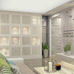 гипсокартонный шкаф в гостиную