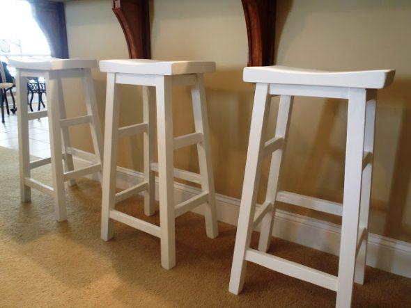 готовый барный стул своими руками