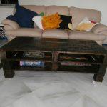 готовый стол из поддонов