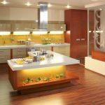 изысканный гарнитур для кухни