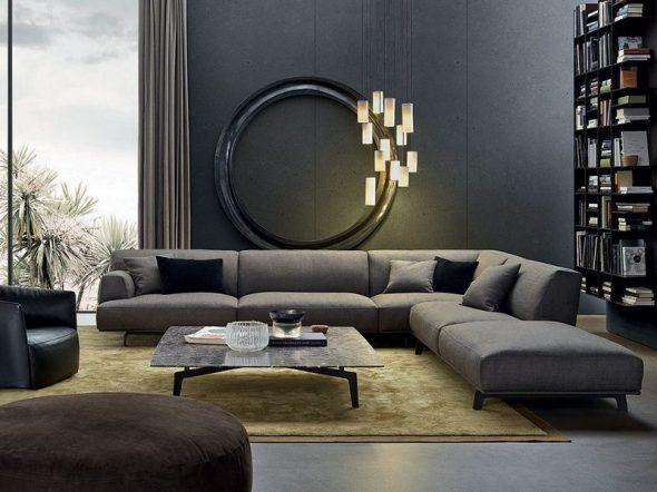 красивый серий диван