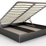 кровать с ортопедическим основанием боковой подъем