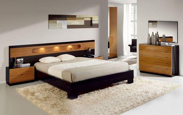 кровать современного стиля