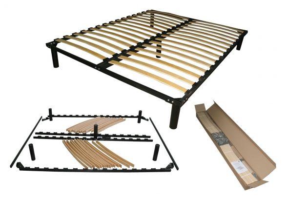 кровать разобранная