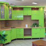 кухонный гарнитур лайм эконом