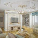 классический стиль зала