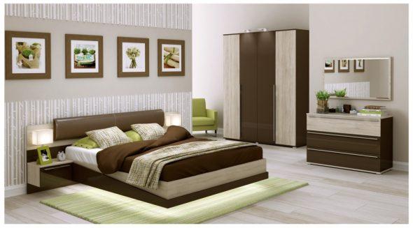 набор мебели для спальни Терра