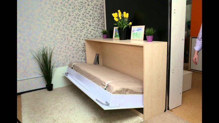 Откидная горизонтальная кровать своими руками фото