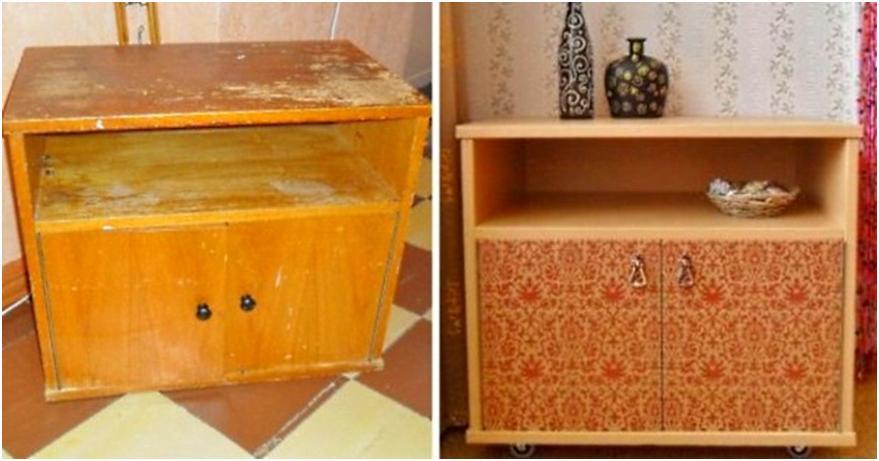 Не выбрасывайте старую советскую мебель.