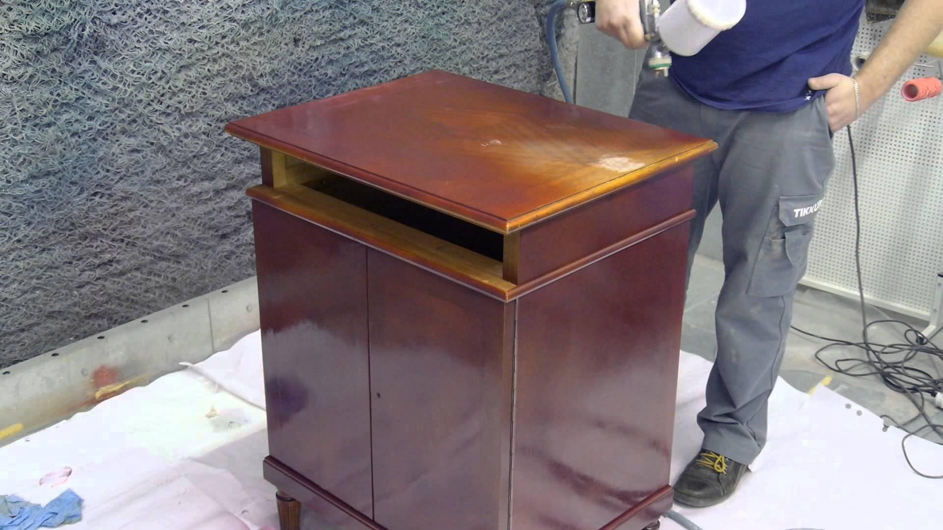Покрасить мебель из дсп своими руками видео