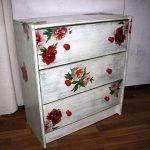 покраска мебели и роспись