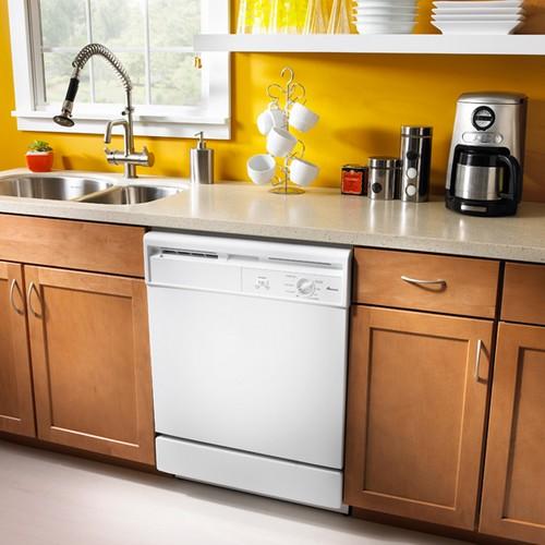 посудомоечная машина в интерьере