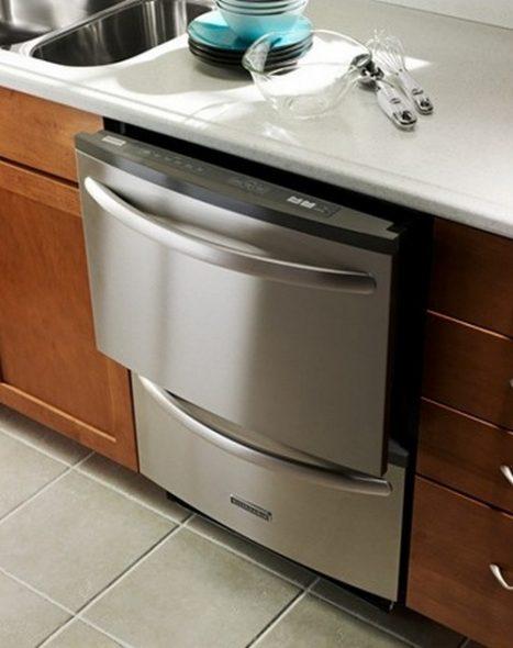 посудомойки встраиваемые с двумя отделениями