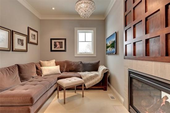 расставить мебель в длинной и узкой комнате