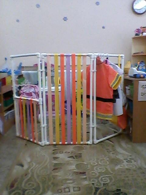 Ширма из пластиковых труб для детского сада своими руками фото пошагово 45