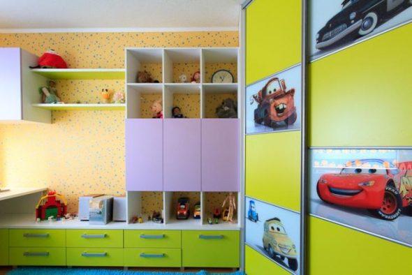 шкаф купе для ребенка