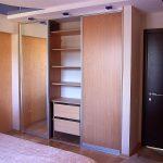 шкаф-купе из гипсокартона в спальню