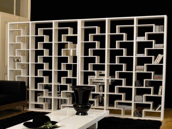 шкаф-перегородка в стили модерн