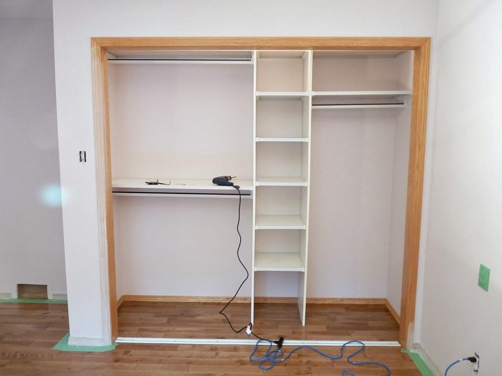 Встроенный шкаф из гипсокартон своими руками 85