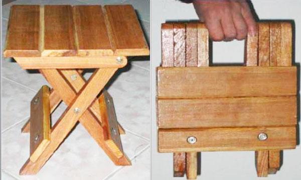 Изготовление раскладного табурета своими руками 13