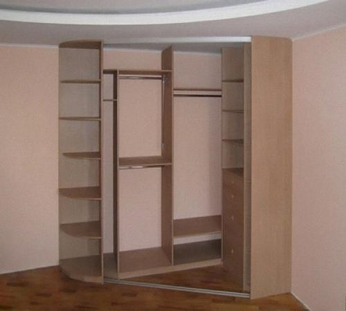 собрать угловой шкаф своими руками